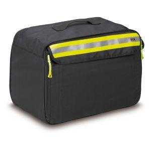 PAX Kennwestentasche 5fach, Farbe schwarz, geschlossen.