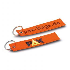 PAX Schlüsselanhänger - tagesleuchtorange