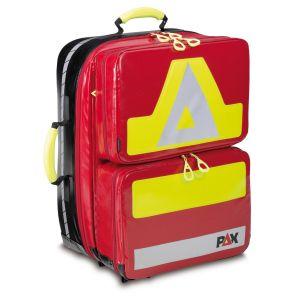 PAX Notfallrucksack Wasserkuppe L-FT2  Frontansicht Farbe rot Material PAX-Plane