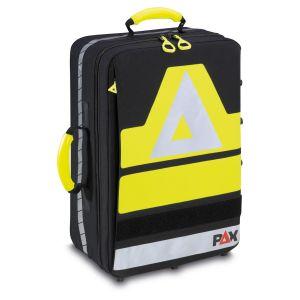 PAX Notfall Rucksack Türöffnung - 2019, Frontansicht, Farbe schwarz, Material PAX Dura