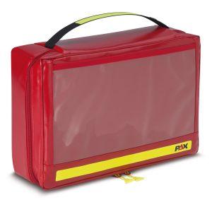 PAX Ampullarium XL, Frontansicht geschlossen, Farbe rot, Material PAX-Tec.