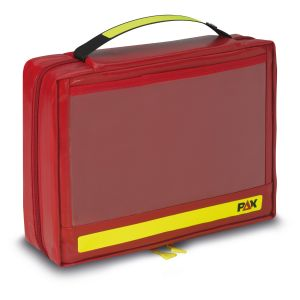 PAX Ampullarium M, Farbe rot, Material PAX-Plan, Frontansicht