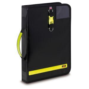 PAX Fahrtenbuch DIN A4-hoch in der Farbe schwarz, Frontansicht