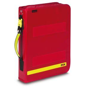 PAX Fahrtenbuch Multi Organizer in der Farbe rot aus PAX-Plane. Frontansicht ohne Klemmbrett