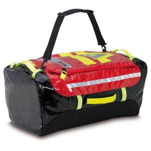 PAX Stuff Bag M, Farbe rot, Material PAX Tec, Frontansicht geschlossen.