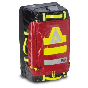 PAX Stuff-Bag Trolley, Farbe rot, Material PAX-Tec, aufrecht stehend
