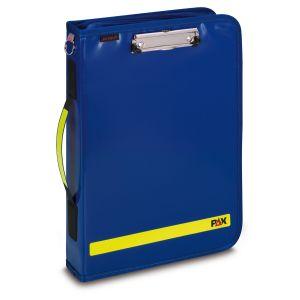 PAX Fahrtenbuch Multi Organizer 2019 , Frontanischt, Farbe blau, Material PAX-Plan.