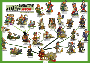 Poster Evolution of Rescue