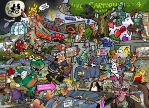 LiveCartooning Poster 4.0, DIN A3