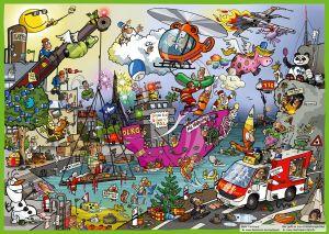 LiveCartooning Poster 5.0, DIN A3
