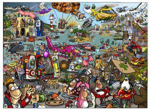 LiveCartooning Poster 6.0, DIN A3