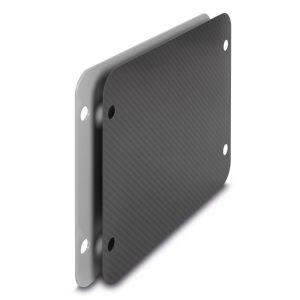 PAX PCI-System-Beschriftungsplatte P5/11L-Karbon