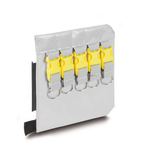 PAX Extension centre wall for key pockets with 10 key clips.