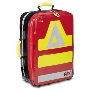 PAX Wasserkuppe L magnet, color red, front view closed, material PAX Tec