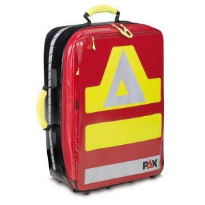 PAX Notfallrucksack Wasserkuppe L Frontansicht rot Material PAX Plan