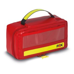 PAX Ampoule Set S, front view closed, material PAX-Tec, color red.
