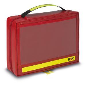 PAX Ampoule Set M, color red, material PAX-Plan, front view