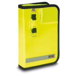 PAX logbook DIN A5 high Navigation, material PAX-Plan color daylight bright yellow.