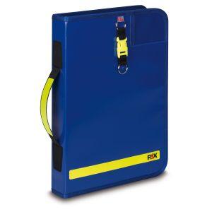 PAX logbook DIN A4 portrait - 2019 - in the colour blue.