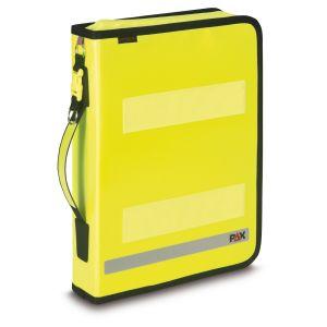 PAX Logbook Multi Organizer - KF 2019 Colour daylight yellow, front view