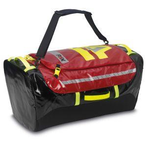 PAX Stuff-Bag L closed, colour red.