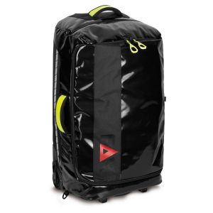 PAX travel trolley, front view, colour black, material PAX-Tec