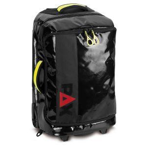 PAX travel trolley M, front view, colour black, material PAX-Tec