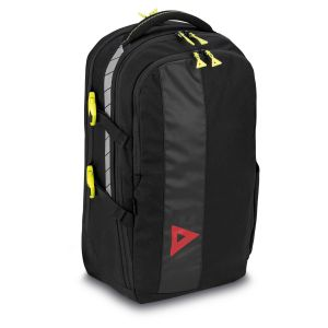 PAX Office backpack Office Buddy, front view, colour black, material PAX-Dura