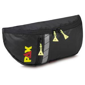 PAX crossover bag Crag, front view, colour black, material PAX-Rip-Tech